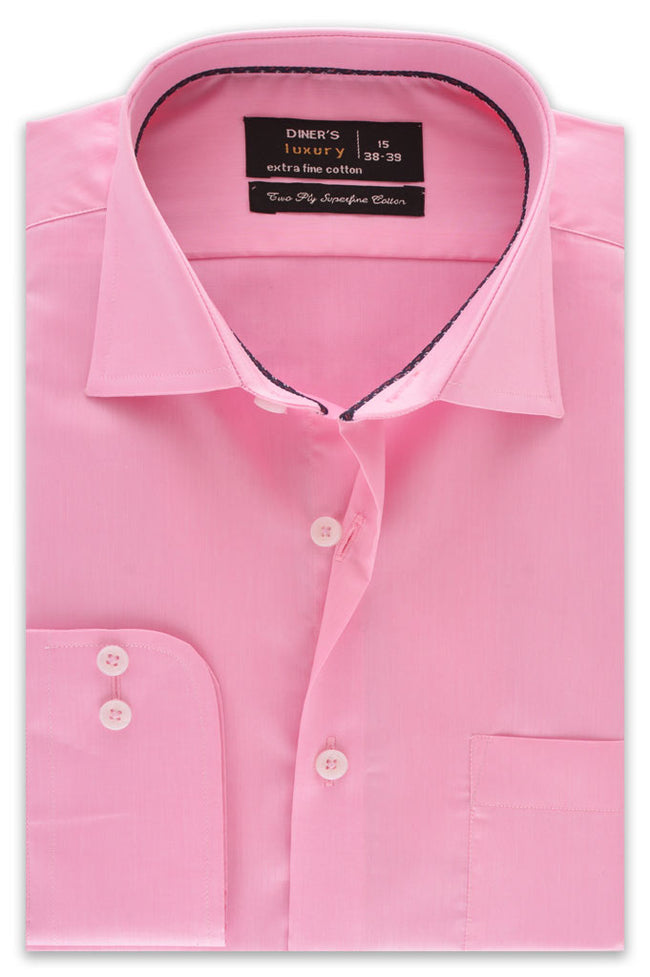 Formal Shirt in D-Pink SKU: AD18143-D-PINK