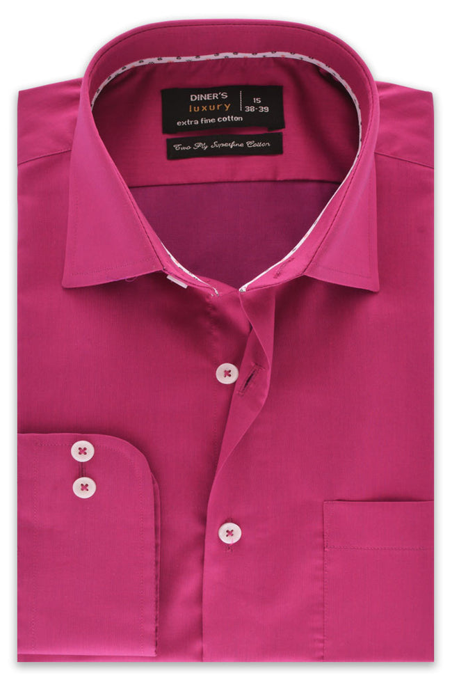 Formal Shirt in D-Purple SKU: AD18143-D-PURPLE