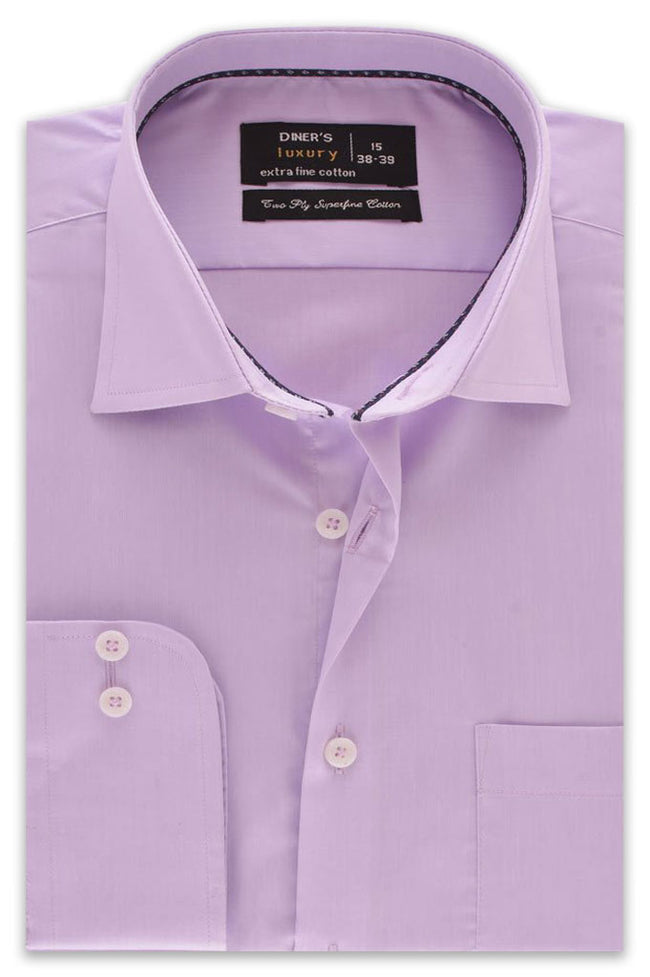 Formal Shirt in Purple SKU: AD18143-PURPLE