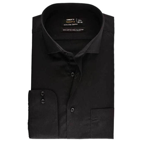 Formal Men Shirt SKU: AD18239-BLACK