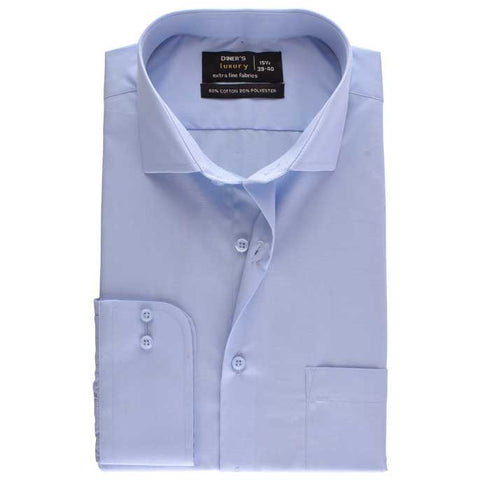 Formal Men Shirt SKU: AD18239-SKY BLUE