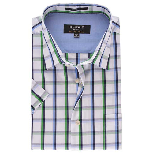Formal Men Shirt in Sky Blue (Half Sleeves) SKU: AD18399-(18)-SKY-BLUE