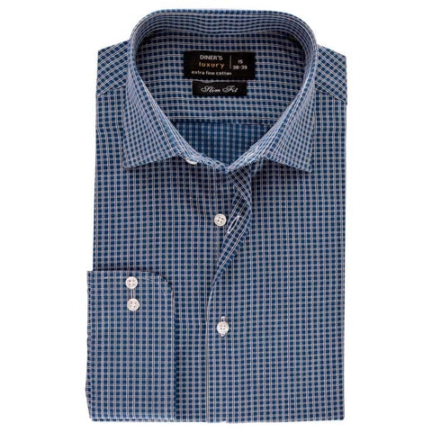 Formal Men Shirt in Green SKU: AD18430-GREEN