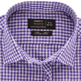 Formal Men Shirt In Purple SKU: AD18514-PURPLE