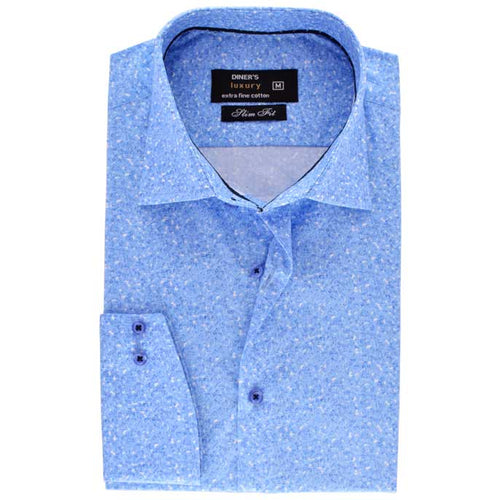 Formal Men Shirt in Sky-Blue SKU: AD18524-SKY-BLUE