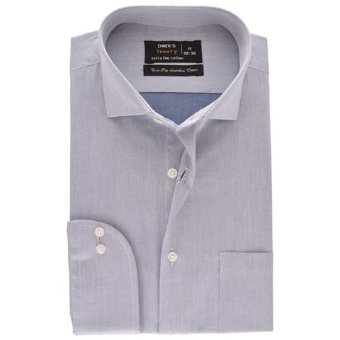Formal Men Shirt SKU: AD18700-L-GREY