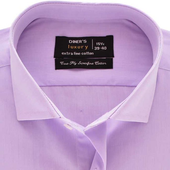 Formal Shirt in L-Purple SKU: AD18716-L-PURPLE
