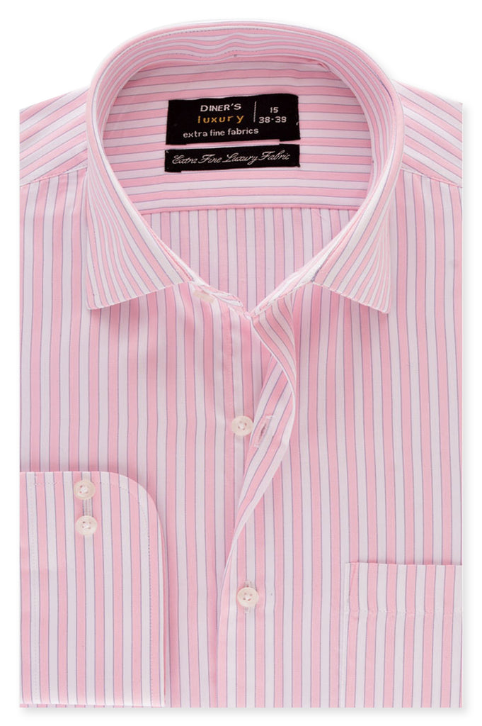 Formal Man Shirt SKU: AD19196-PINK - Diners