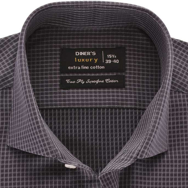 Formal Shirt in D-Grey SKU: AD19206-D-GREY