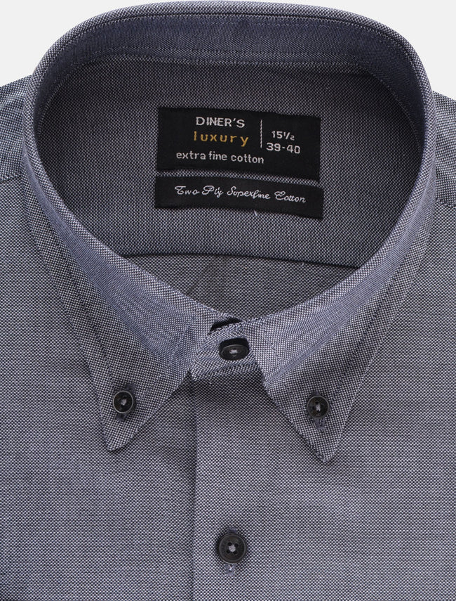 Formal Shirt in D-Grey SKU: AD19210-D-Grey