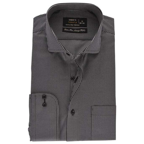 Formal Men Shirt SKU: AD19223-BLACK