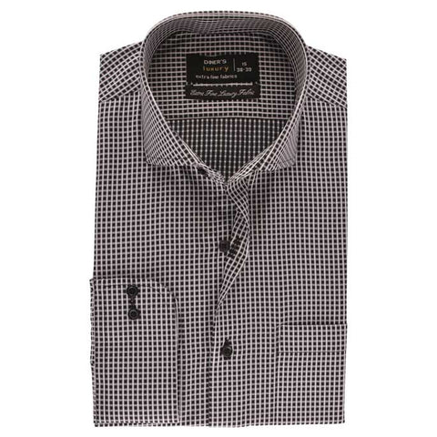 Formal Men Shirt SKU: AD19224-BLACK