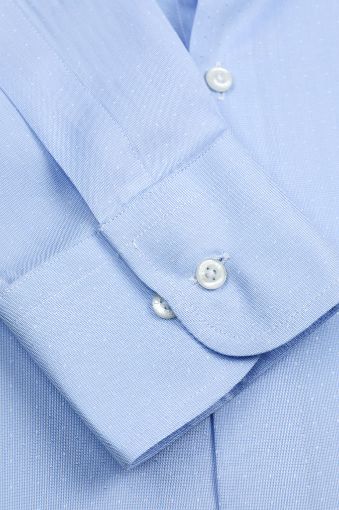 Formal Shirt SKU: AD19810-SKY BLUE - Diners