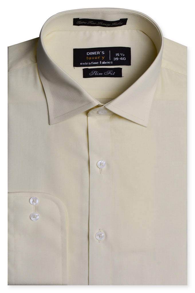 Formal Shirt In CREAM SKU: AD19996- CREAM - Diners