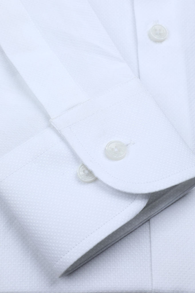 Formal Shirt In White SKU: AD20089-White - Diners