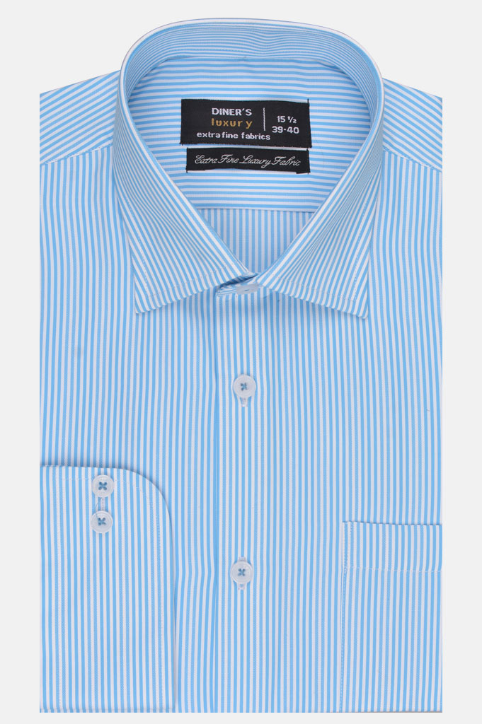 Formal Man Shirt in Teal SKU: AD20100-Teal