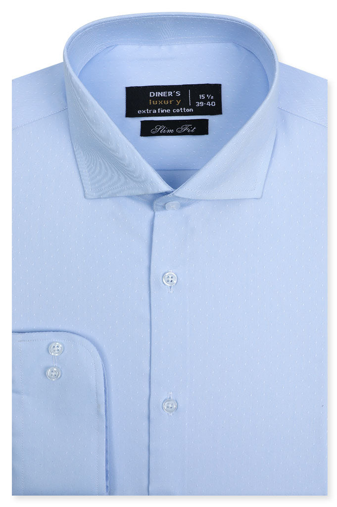 Formal Man Shirt SKU: AD20162-SKYBLUE - Diners