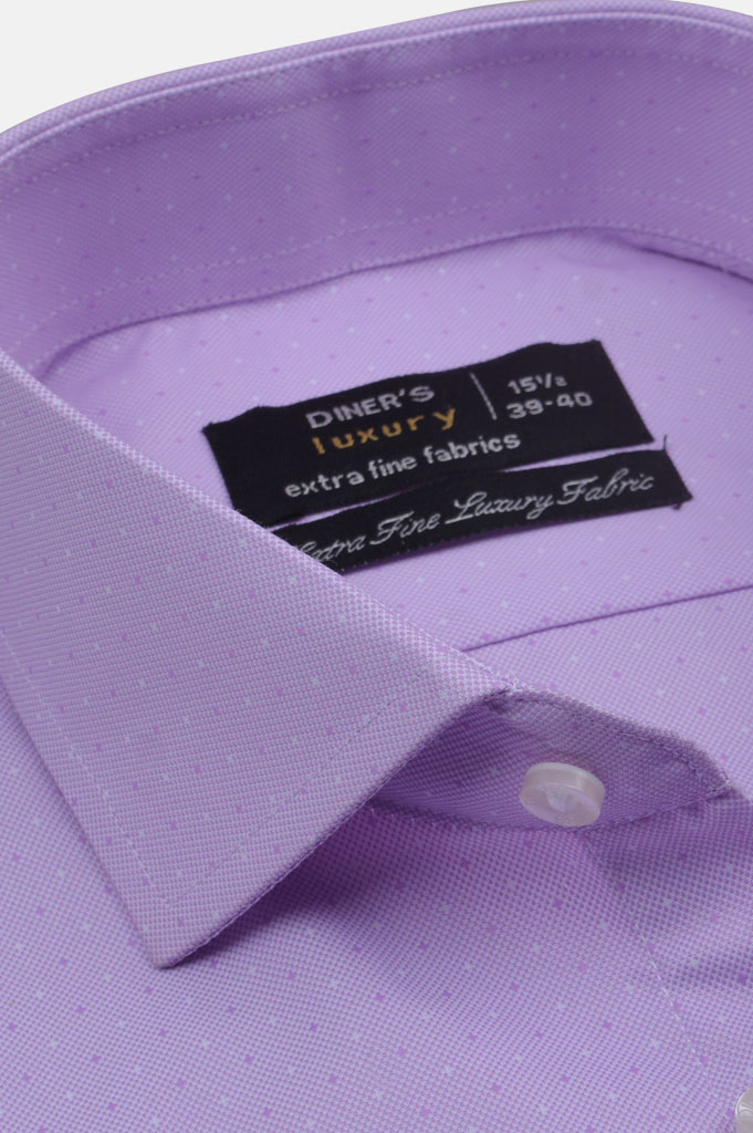 Formal Luxury Shirt SKU: AD20227-L-Purple - Diners