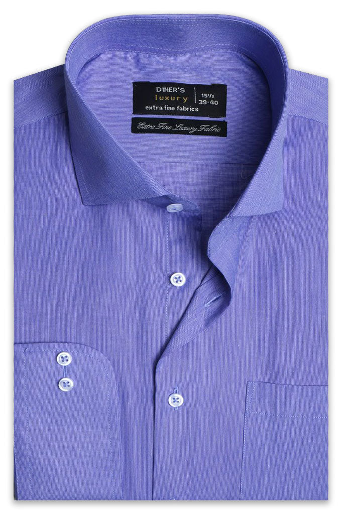 Formal Man Shirt SKU: AD20242-Blue - Diners