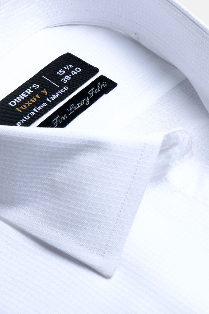 Formal Man Shirt SKU: AD20270-White - Diners