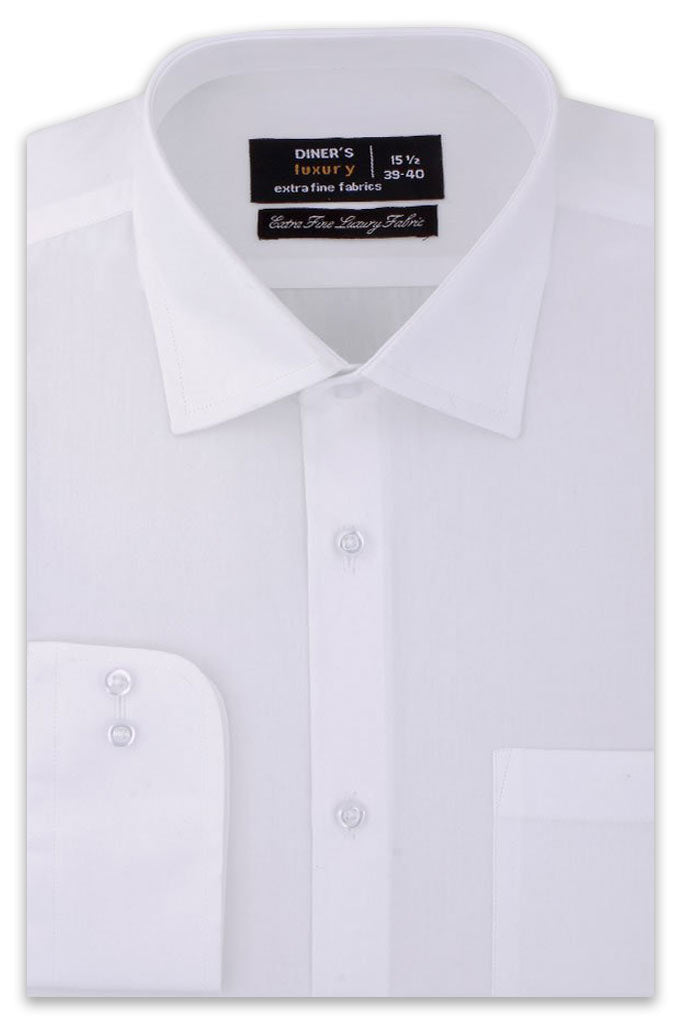 Formal Man Shirt SKU: AD20276-White - Diners