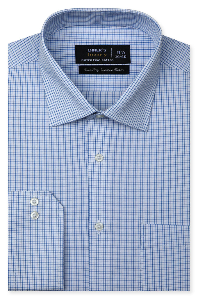 Formal Shirt for Man In Sky Blue SKU: AD20528