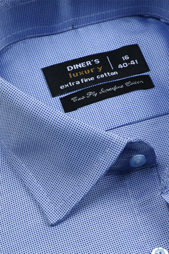 Formal Shirt for Man In Blue SKU: AD20534