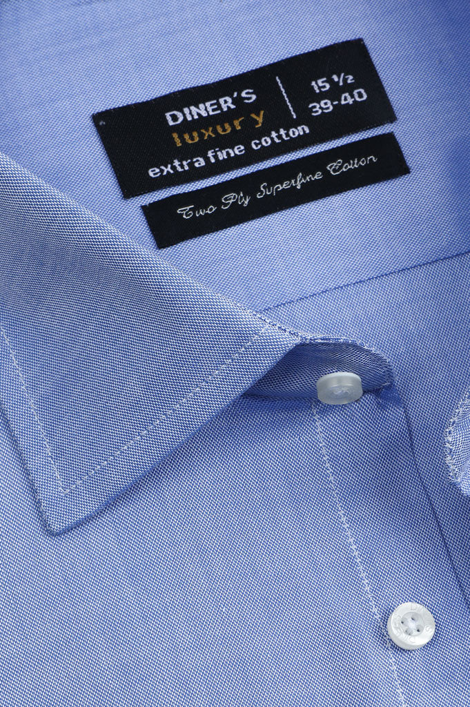 Formal Luxury Shirt SKU: AD20537-BLUE - Diners