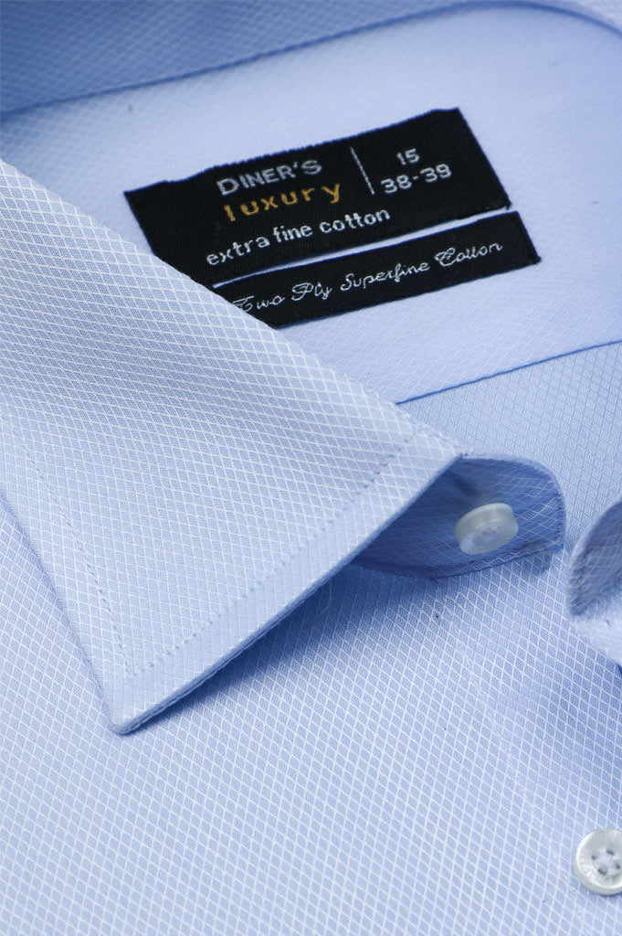 Formal Shirt for Man In L-Blue SKU: AD20541