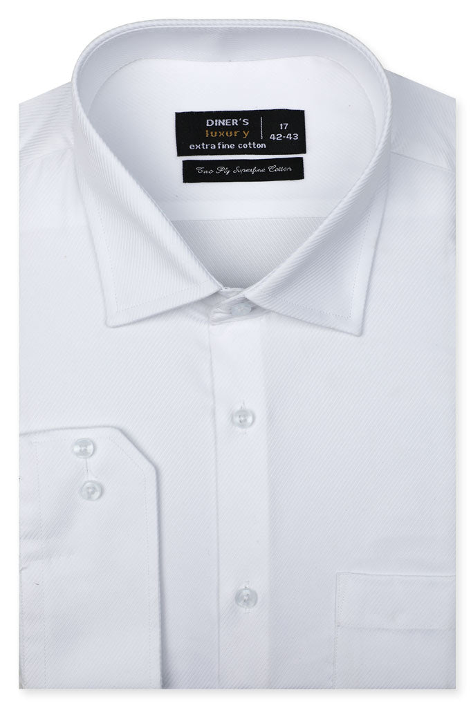 Formal Shirt for Man In White SKU: AD20572