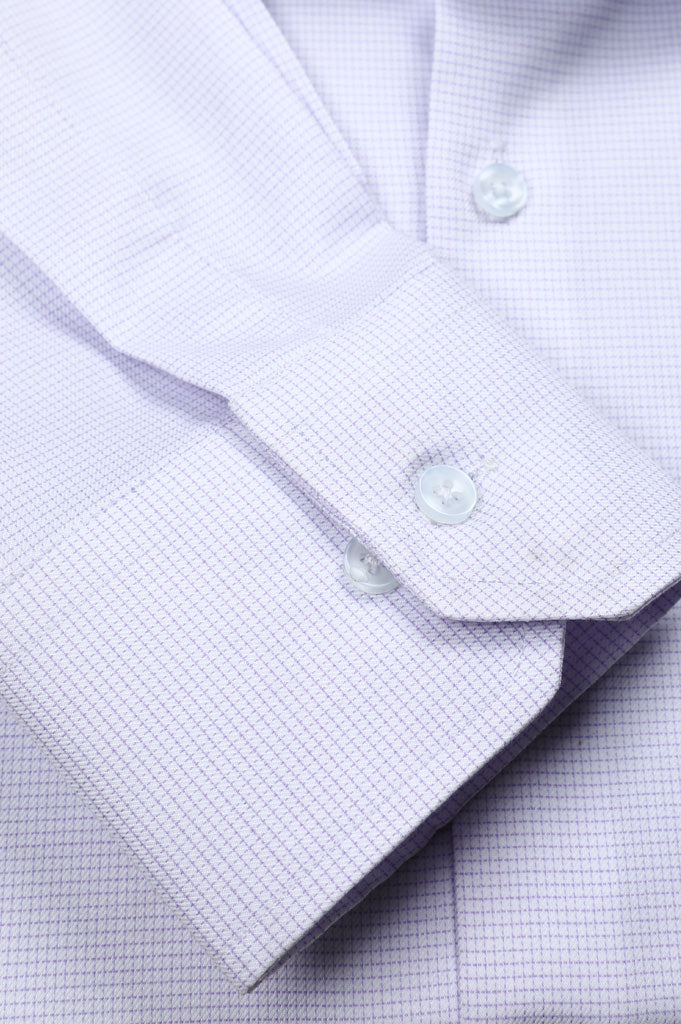 Formal Shirt for Man In L-Purple SKU: AD20573