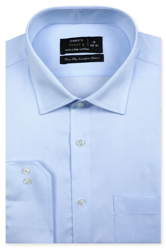 Formal Shirt for Man In L-Blue SKU: AD20584