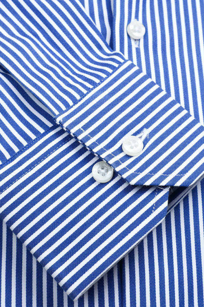 Formal Shirt for Man In D-Blue SKU: AD20589-D-Blue - Diners