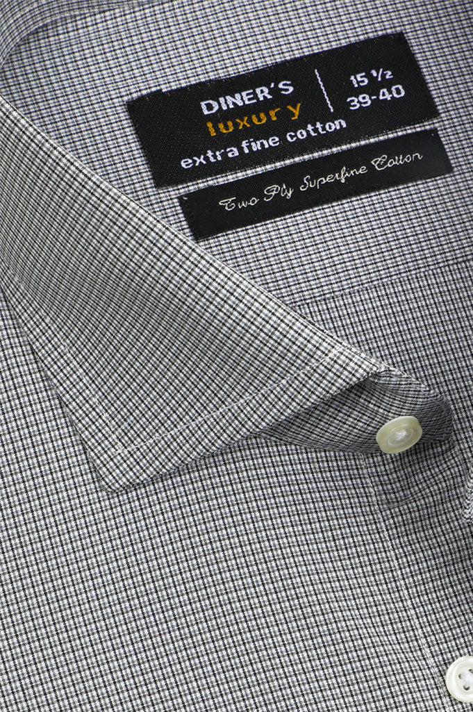 Formal Man Shirt SKU: AD21126-GREY