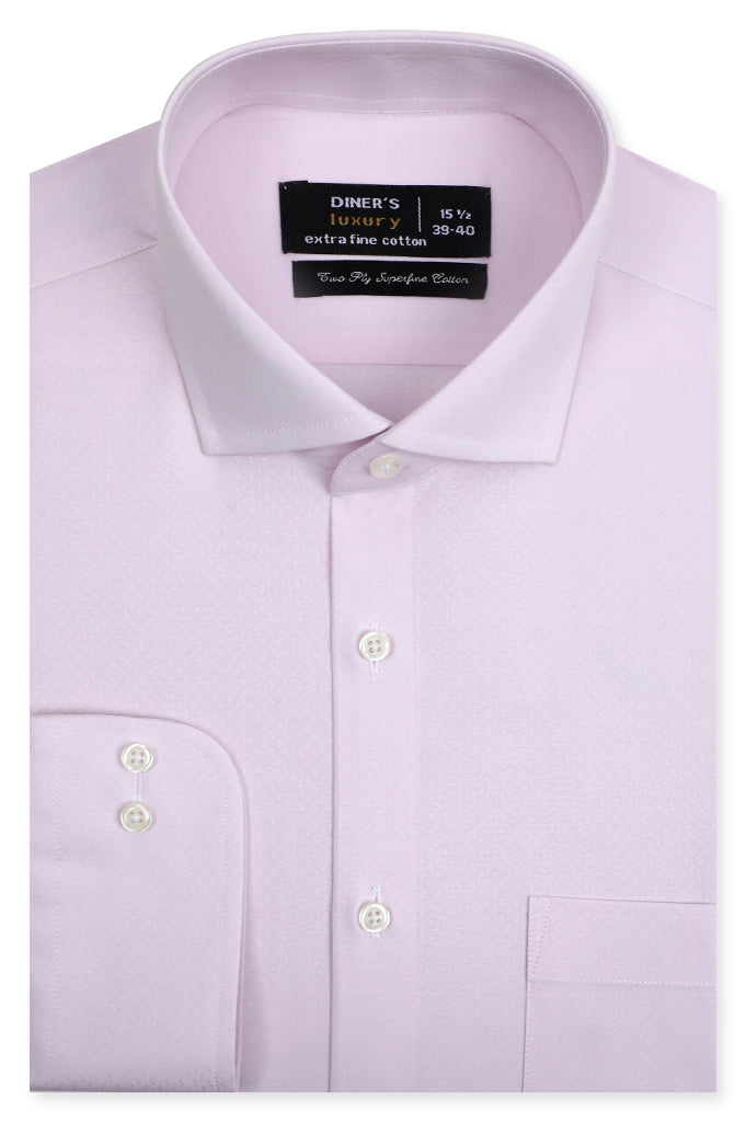 Formal Luxury Shirt SKU: AD21132-PURPLE