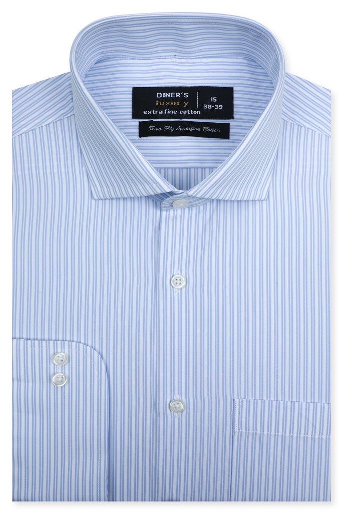 Formal Man Shirt SKU: AD21291-WHITE - Diners