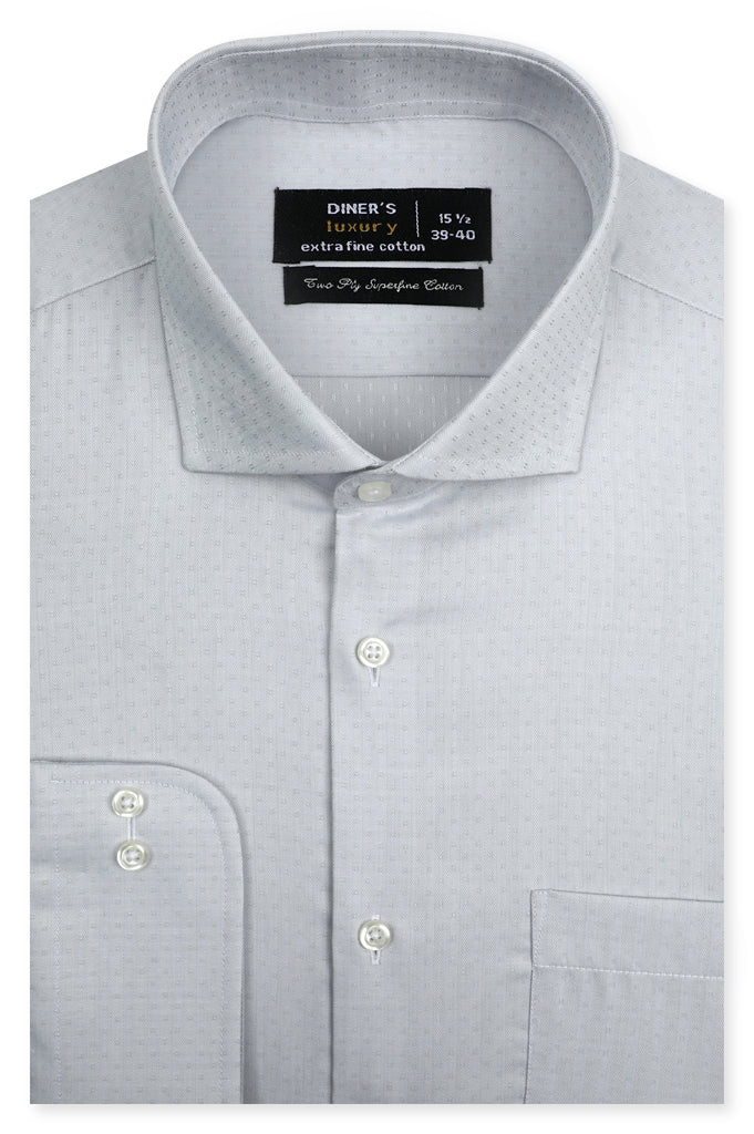 Formal Luxury Shirt SKU: AD21307-L-GREY