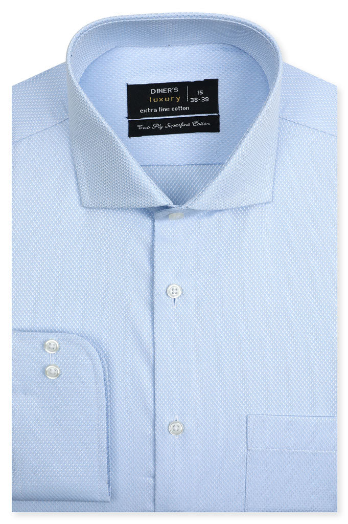 Formal Man Shirt SKU: AD21318-SKYBLUE - Diners