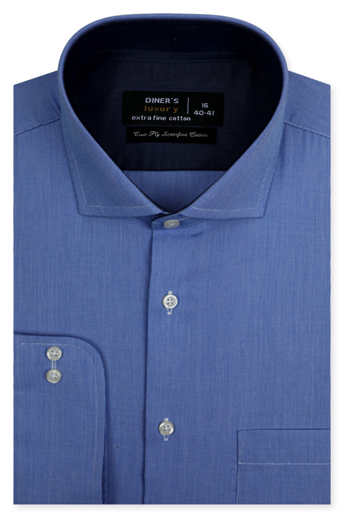 Formal Shirt SKU: AD21356-L-BLUE - Diners