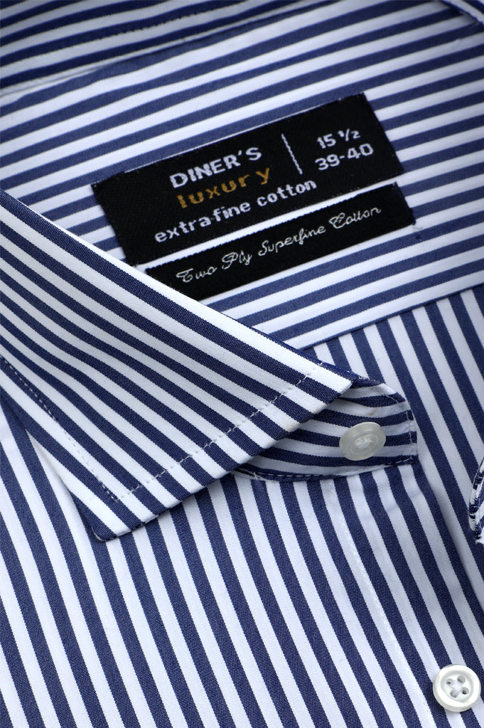 Formal Man Shirt SKU: AD21550-D-BLUE - Diners