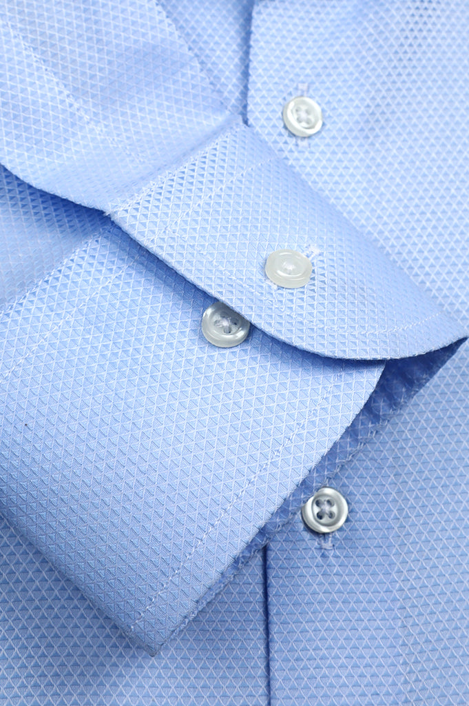 Formal Luxury Shirt SKU: AD21621-SKY BLUE - Diners