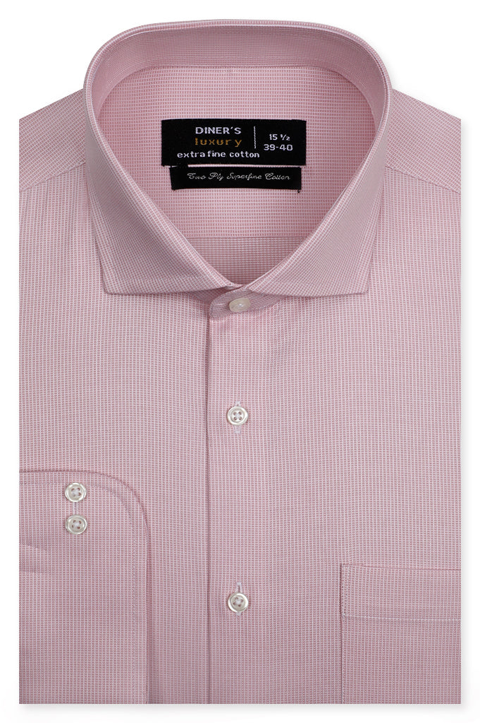 Formal Shirt SKU: AD21712-PEACH - Diners