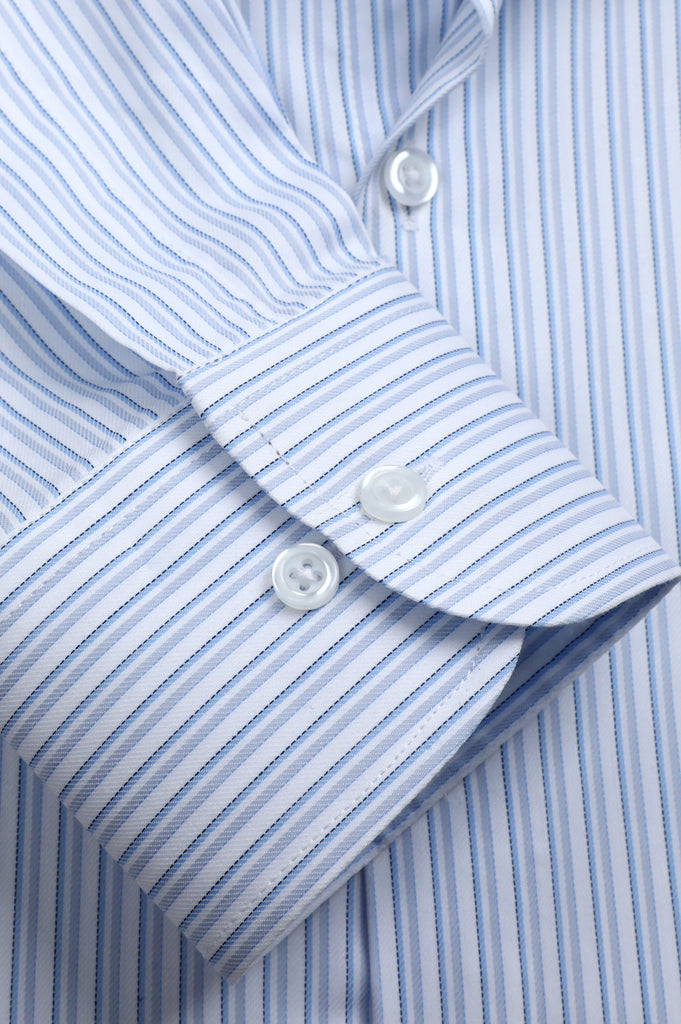 Formal Luxury Shirt SKU: AD22030-L-BLUE - Diners