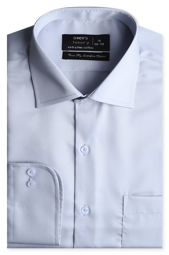 Formal Shirt for Man In L-Grey SKU: AD5074-L-GREY - Diners