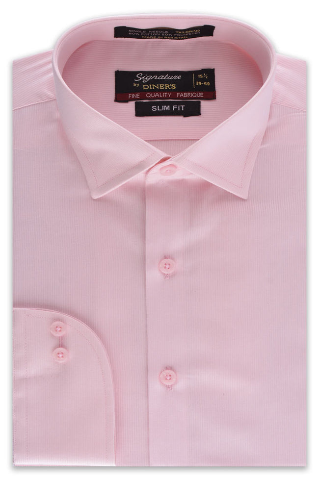 Formal Shirt for Men In Pink SKU: AD5074-Pink