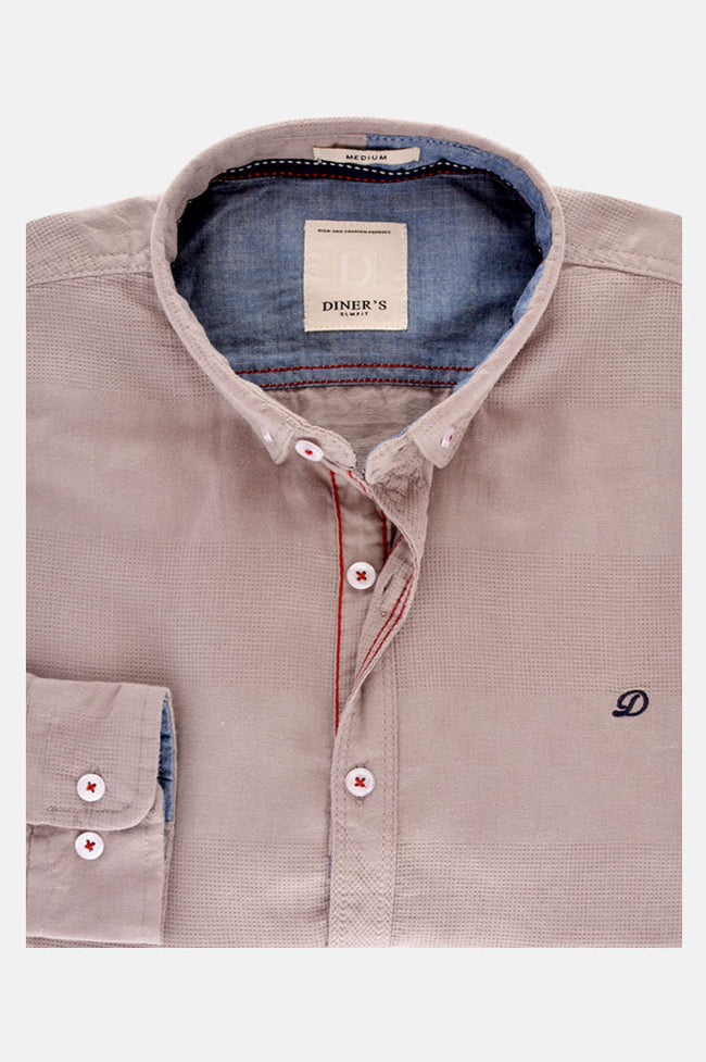 Casual Shirt in Grey SKU: AG18541-GREY