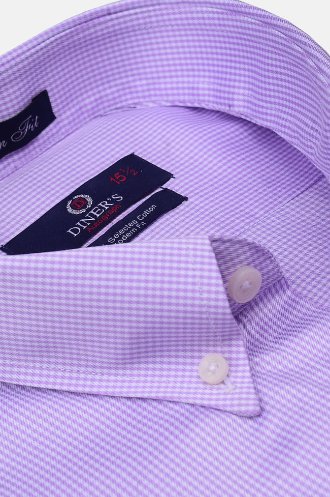 Formal Autograph Shirt in Purple AH19319 (Slim Fit)