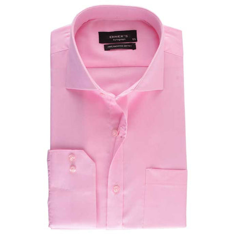 Formal Shirt in L-Pink SKU: AH15767-L-Pink
