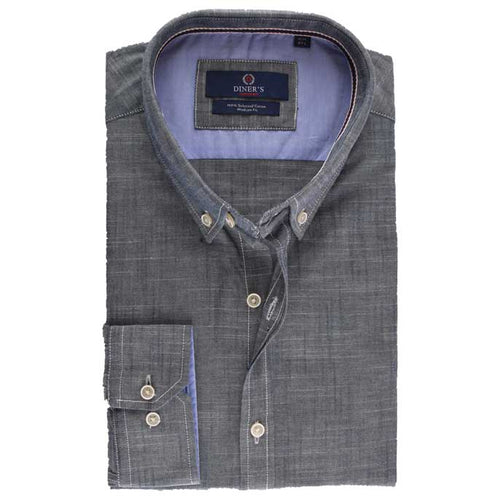 Casual Autograph Shirt in Grey SKU: AH15785-GREY