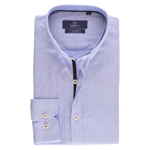 Casual Shirt in Sky Blue SKU: AH15789-SKY-BLUE